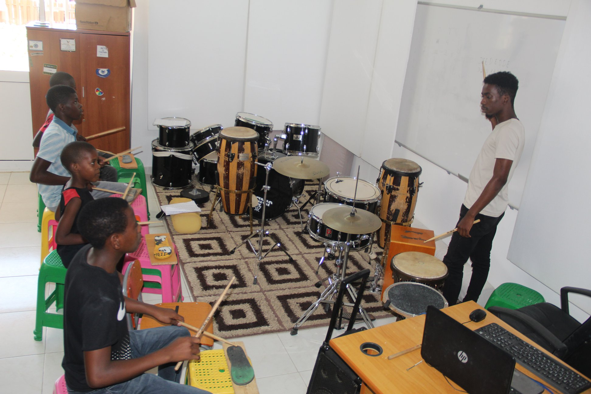 Strategic Philanthropy Project of the Menomadin Foundation in Angola: The Music Academy.