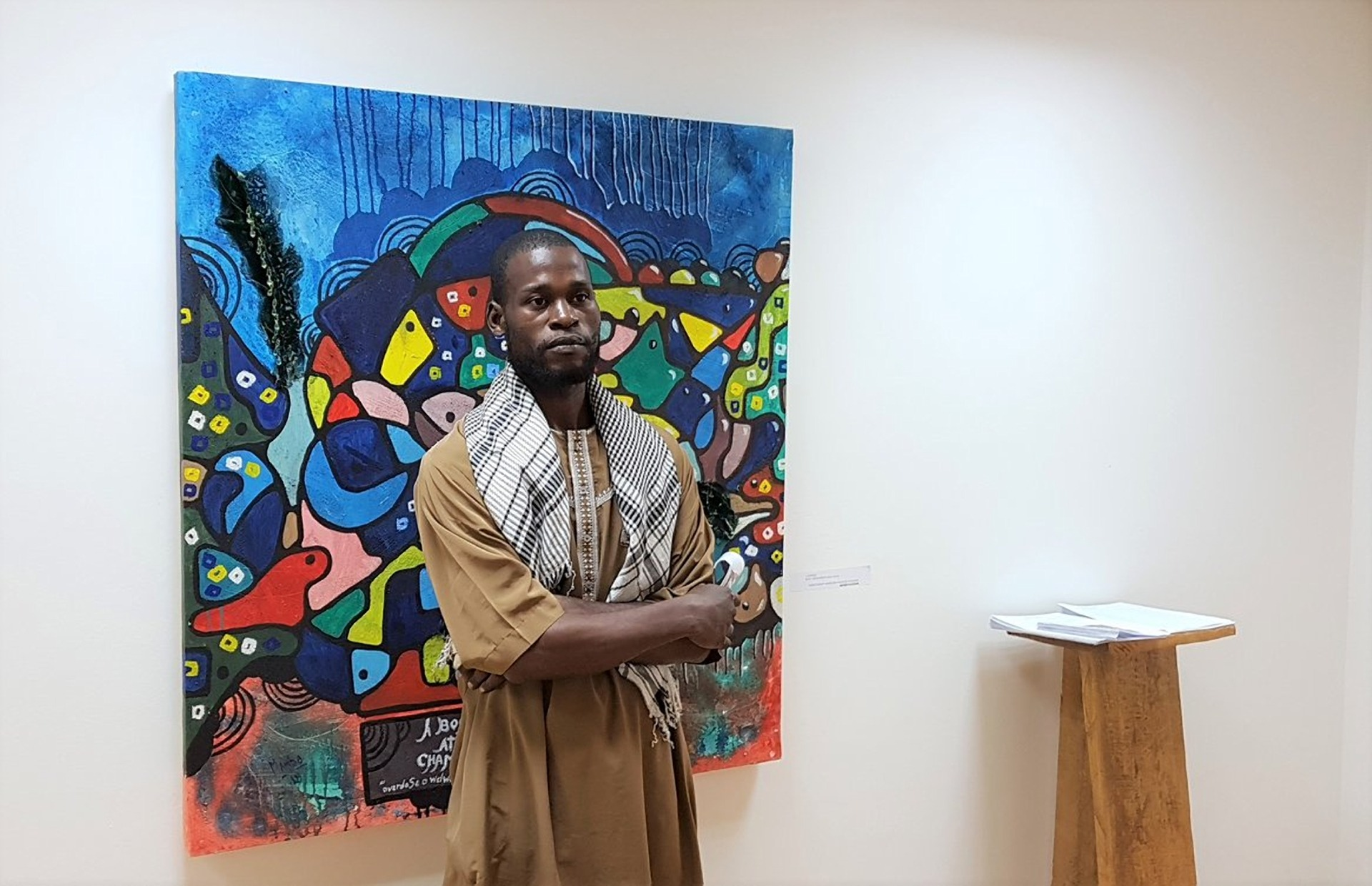 Strategic Philanthropy Project of the Menomadin Foundation in Angola: Tamar Golan Gallery, supporting local young artists.