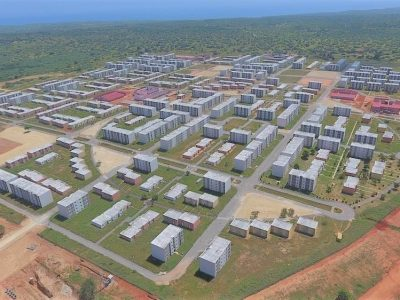 The affordable housing mega-project Haim Taibs Mitrelli Group is building in Angola