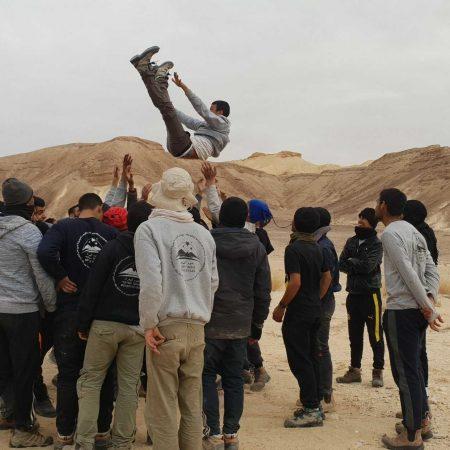 פרויקט מאיץ כוכבים של עמותת כוכבי המדבר, פעילות לפיתוח מנהיגות בדואית צעירה. - קרן מנומדין