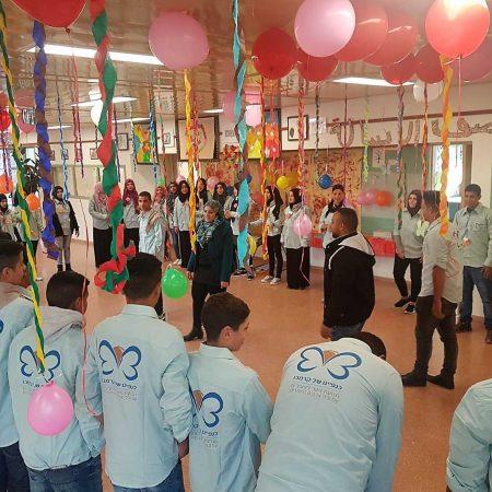 פרויקט של של קרן מנומדין: סניף לקיה של כנפיים של קרמבו, פעילויות מהנות לילדים בעלי מוגבלויות.